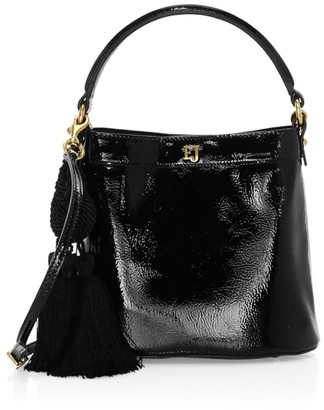 Eric Javits Digit Patent Bucket Bag