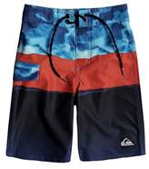 Quiksilver Boy's Blocked Resin Camo Board Shorts