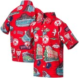 Reyn Spooner Unbranded Boston Red Sox Scenic Button-Down Shirt - Red