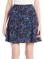Yigal Azrouel Printed Chiffon Skirt
