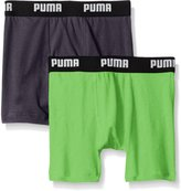 Puma Big Boys 2 Pack Cotton Boxer Brief