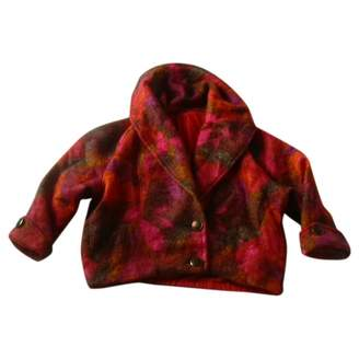 Non Signé / Unsigned Non Signe / Unsigned Oversize Orange Wool Jackets