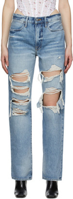 Frame Blue Le Hollywood Jeans