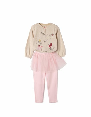 ZIPPY Girl's ZGP03_470_4 Pajama Set
