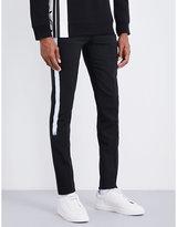 Neil Barrett Paint-stripe Stretch-wool Trousers