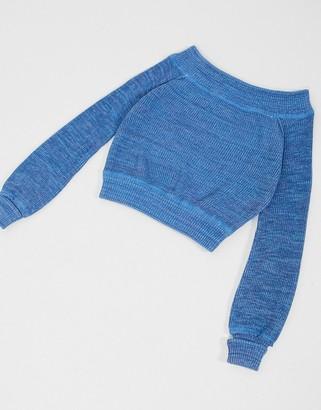 Free People Sugar Rush Sweater in Blue