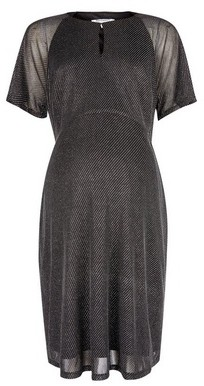 Dorothy Perkins Womens Dp Maternity Silver Keyhole Dress, Silver