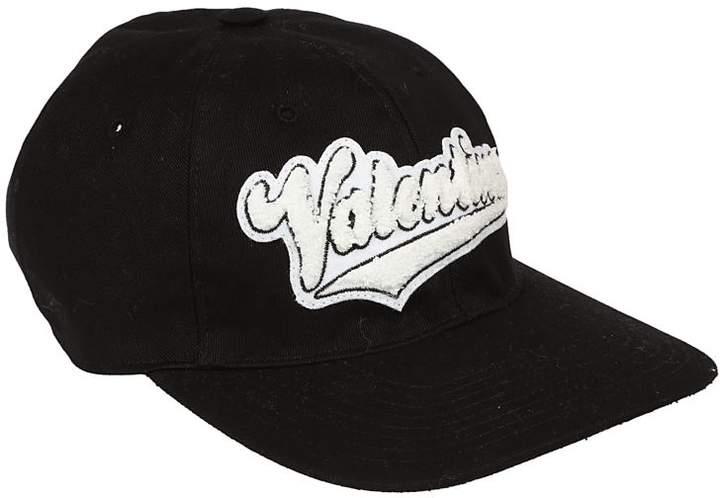 Valentino Embroidered Logo Cap