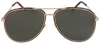 Saint Laurent Unisex Sl294f 61Mm Sunglasses