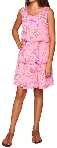 Ella Moss Girl's Citrus Floral Patterned Dress - Pout