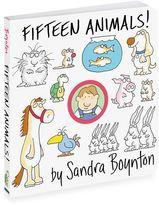 Bed Bath & Beyond Fifteen Animals! Board Book by Sandra Boynton
