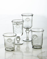 GG Collection G G Collection Medallion Wine Glasses, Set of 4