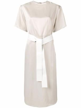 Ports 1961 satin T-shirt dress