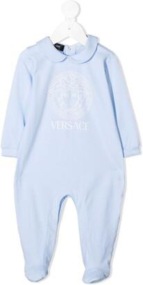 Versace Medusa logo pajamas