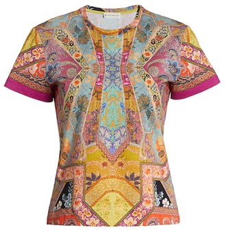 Etro Stained Glass Cotton T-Shirt