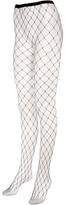 Large Fishnet  Footed Tights
