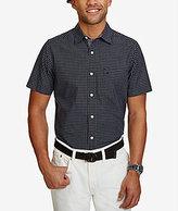 Nautica Check Poplin Short-Sleeve Woven Shirt