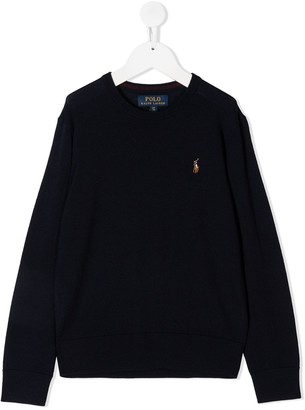 Ralph Lauren Kids Crewneck Jumper