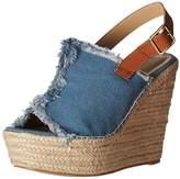 Penny Loves Kenny Women's Notch Wedge Sandal, 9.5 M US
