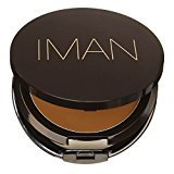 Iman Second To None Cream To Powder Foundation, Dark Skin, Earth 2