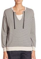 Brunello Cucinelli Striped Wool Sweater