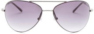 Diane von Furstenberg 63mm Hilary Aviator Metal Frame Sunglasses