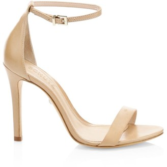Schutz Cadey-Lee Leather Ankle-Strap Sandals