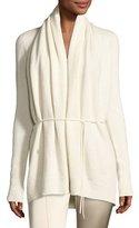 The Row Sarene Cashmere Tie-Waist Cardigan, Ivory