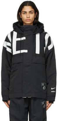 Nike Black Ambush Edition NBA Collection Nets Jacket