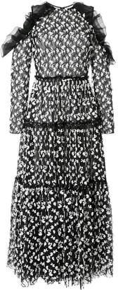 Huishan Zhang Naomi embroidered midi dress