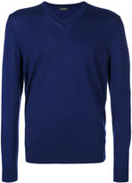 Z Zegna V-neck jumper - men - Wool - S