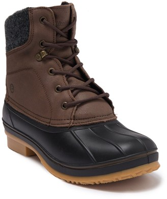 Northside Braedon Faux Shearling Collar Duck Boot