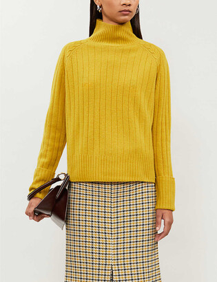 Whistles Funnel-neck merino wool jumper