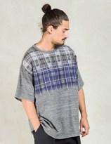 Facetasm Grey Embroidered T-Shirt