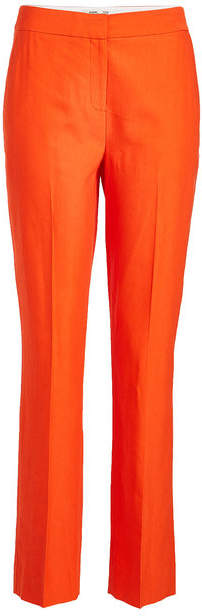 Diane von Furstenberg Tailored Pants with Linen and Cotton