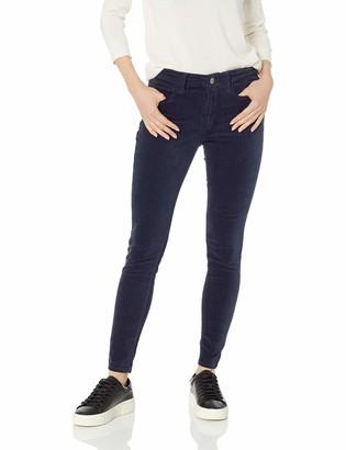Daily Ritual Amazon Brand Women's Velvet 5-Pocket Skinny Pant
