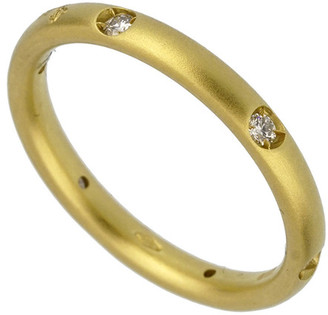 Pomellato 18K 2.80 Grams 0.13 Ct. Tw. Diamond Ring
