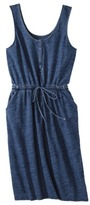 Merona Women's Shirt Dress -Indigo