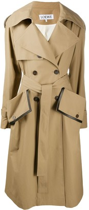 Loewe Belted Trench Coat