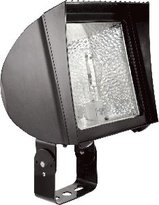 RAB Lighting Flex Flood FXH70TQT HID Floodlights 70W Metal Halide quad tap Trunnion Mount