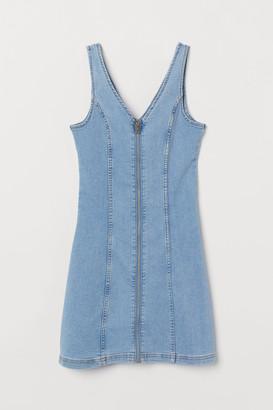 H&M Short Denim Dress