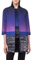 Akris Punto Women's Twilight City Print Long Bomber