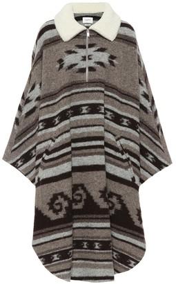 Etoile Isabel Marant Gabo wool-blend poncho