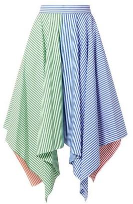 MDS Stripes Knee length skirt