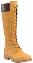 Timberland Side Zip Leather Knee-High Boots