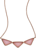 Melanie Auld Designs Triple Triangle Necklace