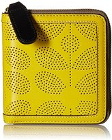 Orla Kiely Sixities Stem Punched Leather Square Wallet