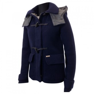 Bark Navy Wool Jacket for Women