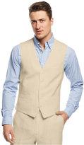 INC International Concepts Men's Smith Linen-Blend Vest, Only at Macy's