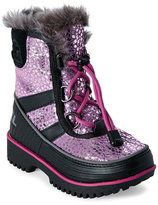 Sorel Toddler Girls) Very Berry & Black Tivoli Waterproof Boots